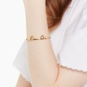 kate spade Jewelry - Kate Spade New York Out West Cat Ear Gold Bracelet